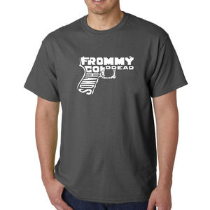 Men's Word Art T-shirt - Out of My cold Dead Hand